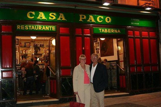 Casa Paco: Paco's