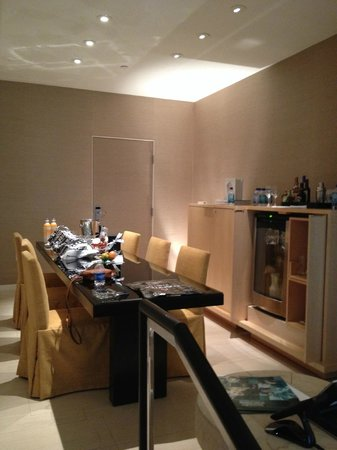 Dining room/bar/refrigerator - Picture of Skylofts at MGM Grand, Las ...