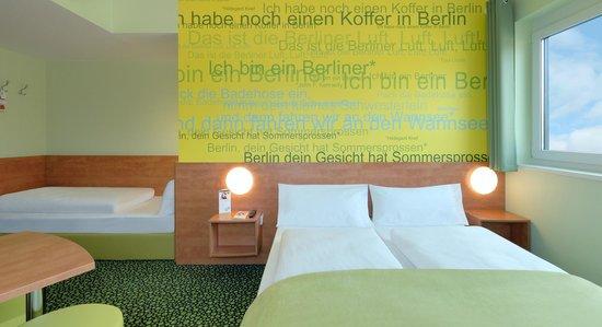 B&B Hotel Berlin-Airport - Familienzimmer für 3 Personen