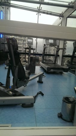 Inntel Hotels Rotterdam Centre: Gym