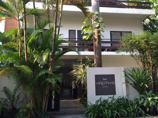 Viroth's Villa : Hotel entrance