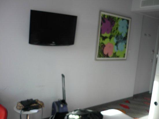 art'otel berlin kudamm: room view
