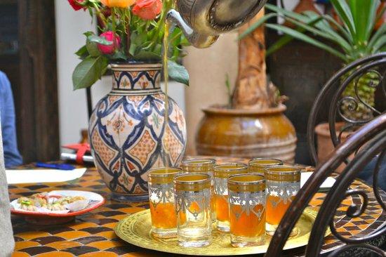 Tea at Riad Mur Akush