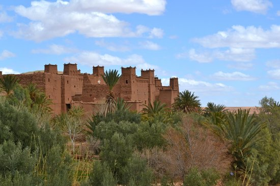 Riad Mur Akush : Ait Benaddou Kasbah UNESCO Heritage Stop- A stop on the trek to the Sahara arranged by the riad