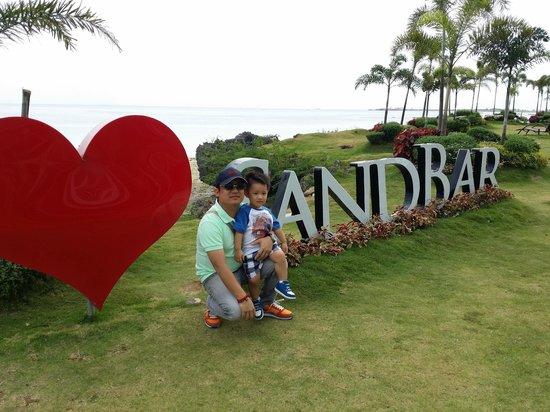 Best Western Cebu Sand Bar Resort : @ Sand Bar