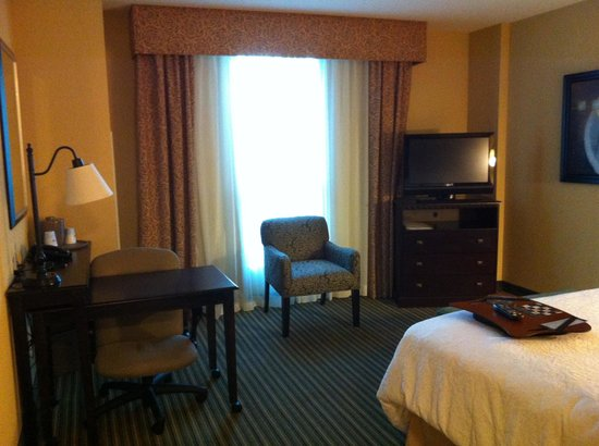 Hampton Inn & Suites National Harbor/Alexandria Area: Chair by window