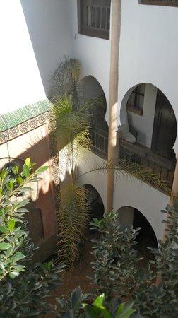 Riad Mur Akush: Courtyard