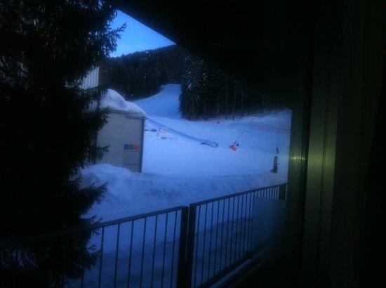 Club Valtur Marilleva: vista dal balcone
