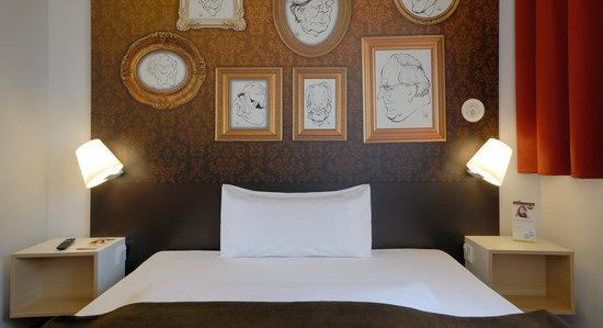 B&B Hotel Bonn - Zimmer mit französischem Bett