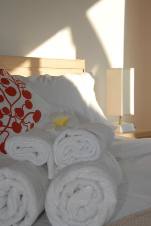 Studio 99 Serviced Apartments : Fresh, Clean Towels