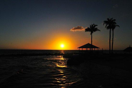 Curacao Marriott Beach Resort & Emerald Casino: View at the board room