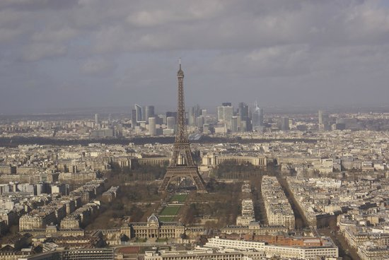 Europe Hotel Paris: view from the Monparnasse Tower