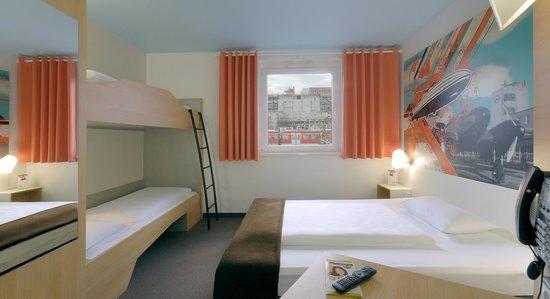 B&B Hotel Boeblingen : B&B Hotel Böblingen - Familienzimmer für 4 Personen