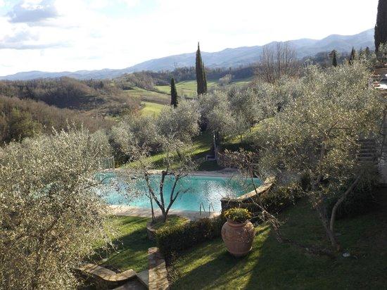 Villa la Borghetta: piscina