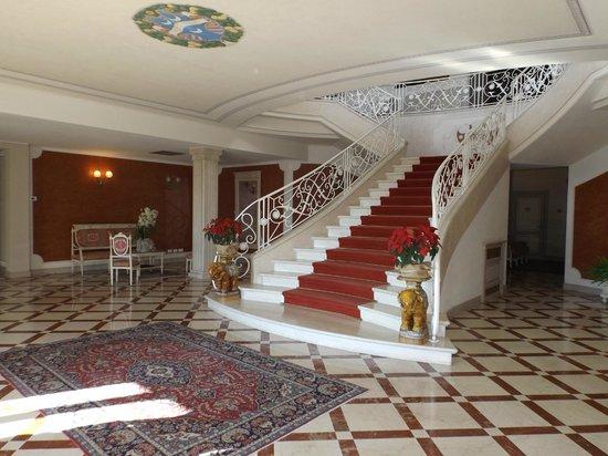Villa la Borghetta: la hall