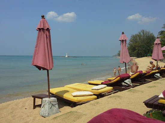 Khaolak Laguna Resort: la plage