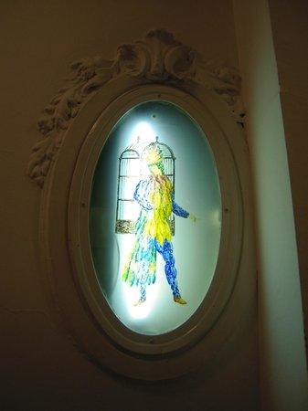 Hotel Papageno: particular - glazed 2