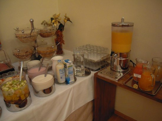 Hotel Papageno: Breakfast
