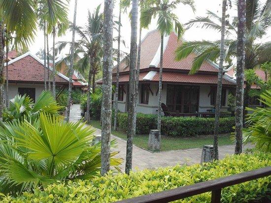 Khaolak Laguna Resort: vue de notre terrasse
