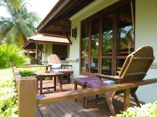 Khaolak Laguna Resort: la terrasse