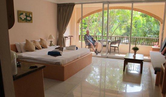 Prinz Garden Villa : super grote kamers