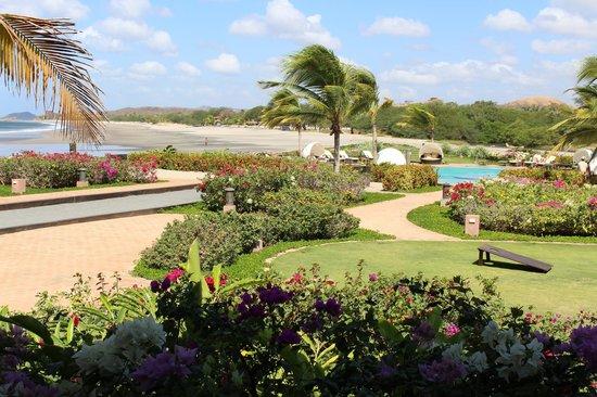 Rancho Santana : Looking at Playa Santana from clubhouse