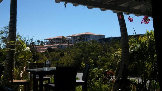 La Vista Azul Resort: La Vista Azul from the Green Bean Cafe...