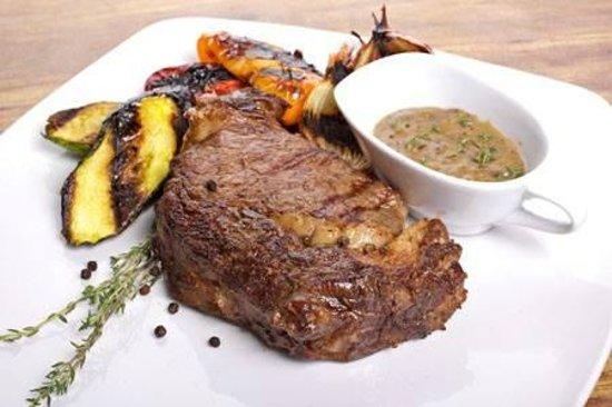 El Gaucho : steak dinner