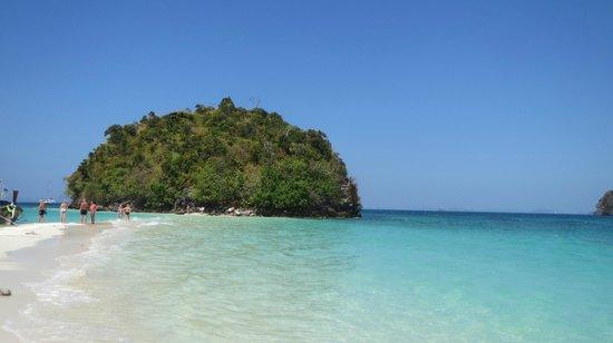 Tup Island: остров рано утром