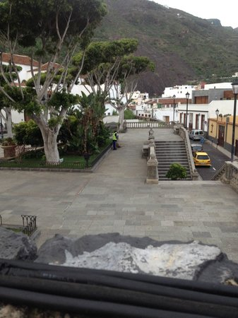 Hotel La Quinta Roja: Von der Terrasse die Aussicht geniessen