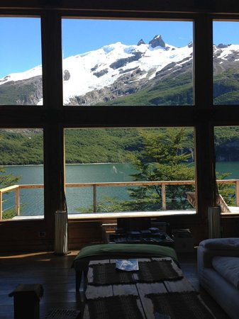 Aguas Arriba Lodge: View from the living room