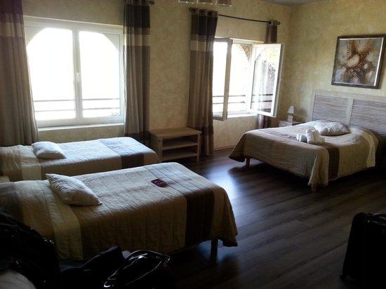 Domaine de la Courbe: notre chambre: propreté et le cadre juste superbe