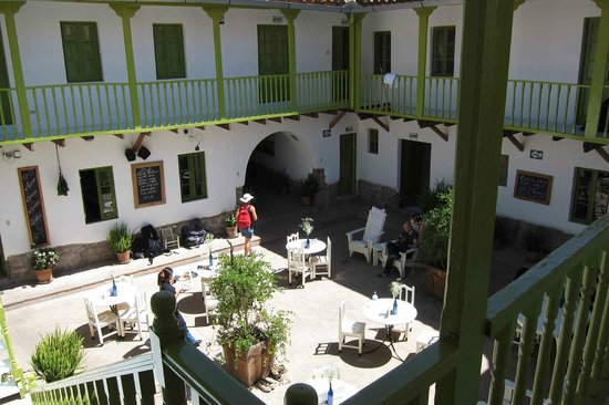 Ninos Hotel: The hotel elegant courtyard