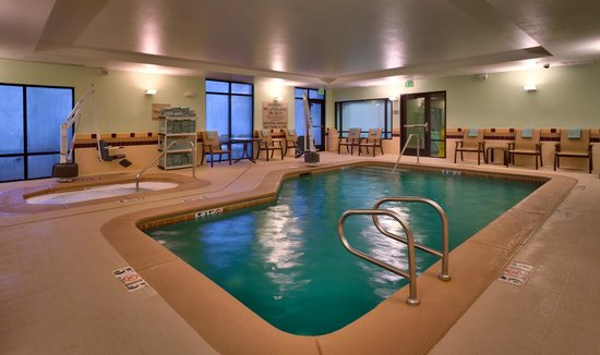SpringHill Suites Cedar City: Indoor Pool and Hot Tub
