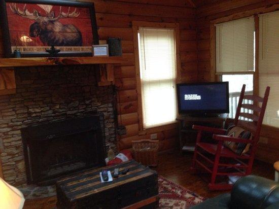 Wilderness View Cabins: Laurels rest :)
