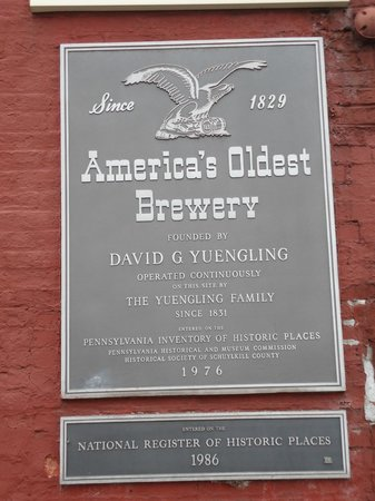 D.G. Yuengling and Son Brewery : History