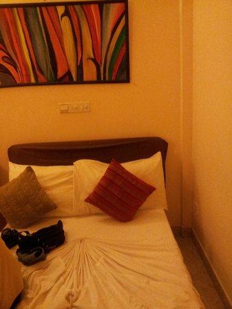 Hulhumale Inn: The room