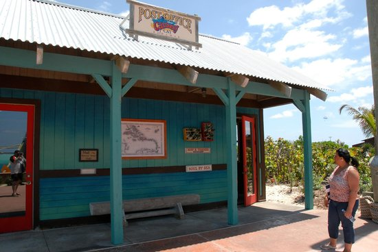 Castaway Cay : Coastaway Post Office