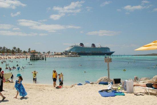 Castaway Cay : Family beach