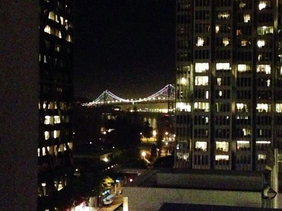 Le Meridien San Francisco: 9th floor king room view