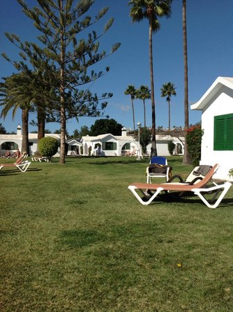 Bungalows Club Maspalomas: The view from our terrace