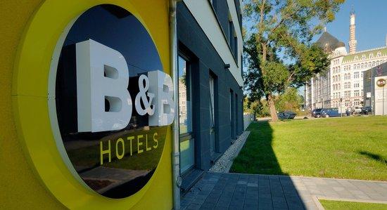 B&B Hotel Dresden - Außenansicht
