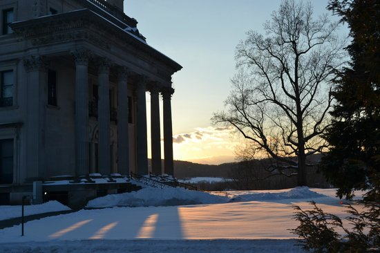 Vanderbilt Mansion National Historic Site: February Sunset