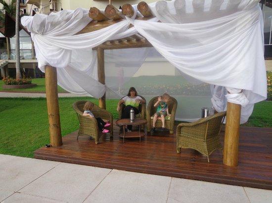 Recanto Cataratas Thermas Resort & Convention : En todo el hotel hay espacios especiales