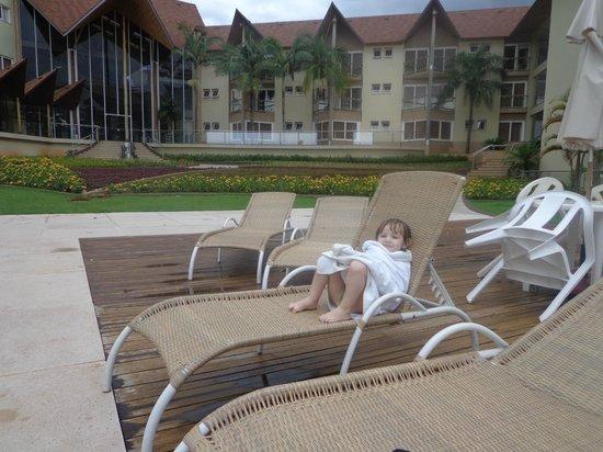 Recanto Cataratas Thermas Resort & Convention : En la piscina