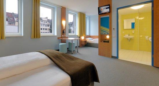 B&B Hotel Duesseldorf - Hbf : B&B Hotel Düsseldorf-Hbf - Barrierefreies Zimmer