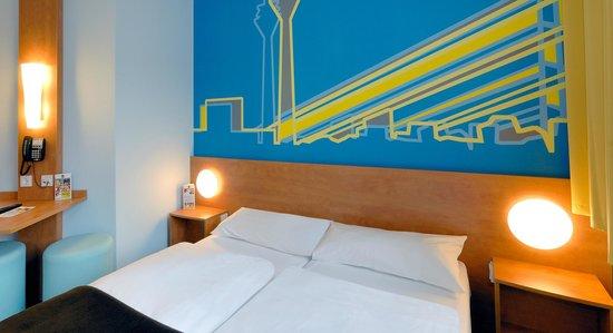 B&B Hotel Duesseldorf - Hbf : B&B Hotel Düsseldorf-Hbf - Zweibettzimmer
