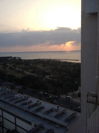 Grand Beach Hotel: View from our 11th floor room