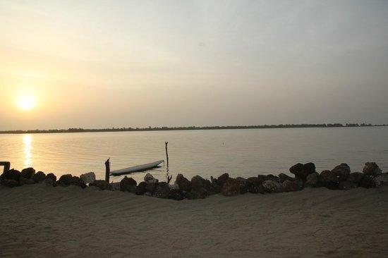 Le Teranga Gandiol: tramonto dal Teranga...