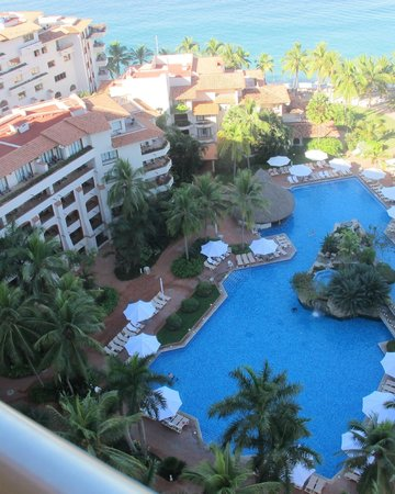 Buganvilias Vacation Club: One of two huge pool areas